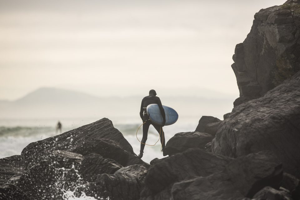 The Cog making his way around to jump rock at his local. Photo: Derek Morrison