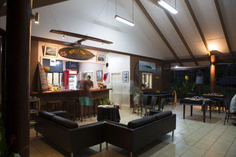 The Bikini Bar at Salani Surf Resort, Samoa. Photo: Derek Morrison