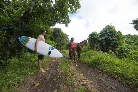 Backcountry jungle mission Upolu, Samoa. Photo: Derek Morrison