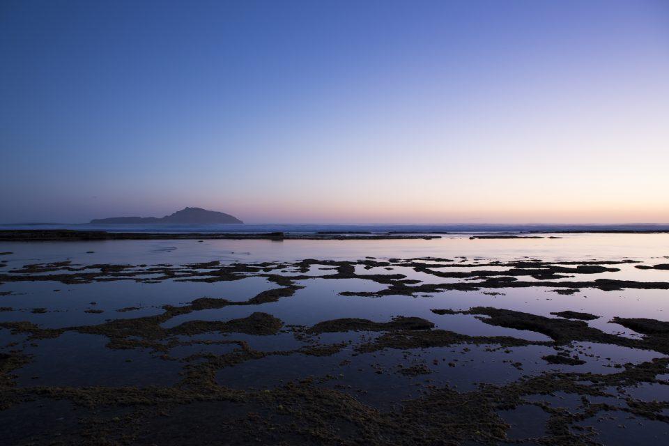 The lagoon at dusk Norfolk Island, South Pacific Ocean. Photo: Derek Morrison