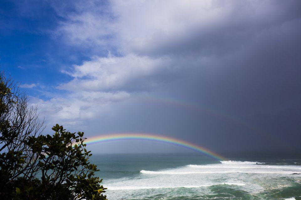 Rainbows and the in betweeners. Photo: Derek Morrison