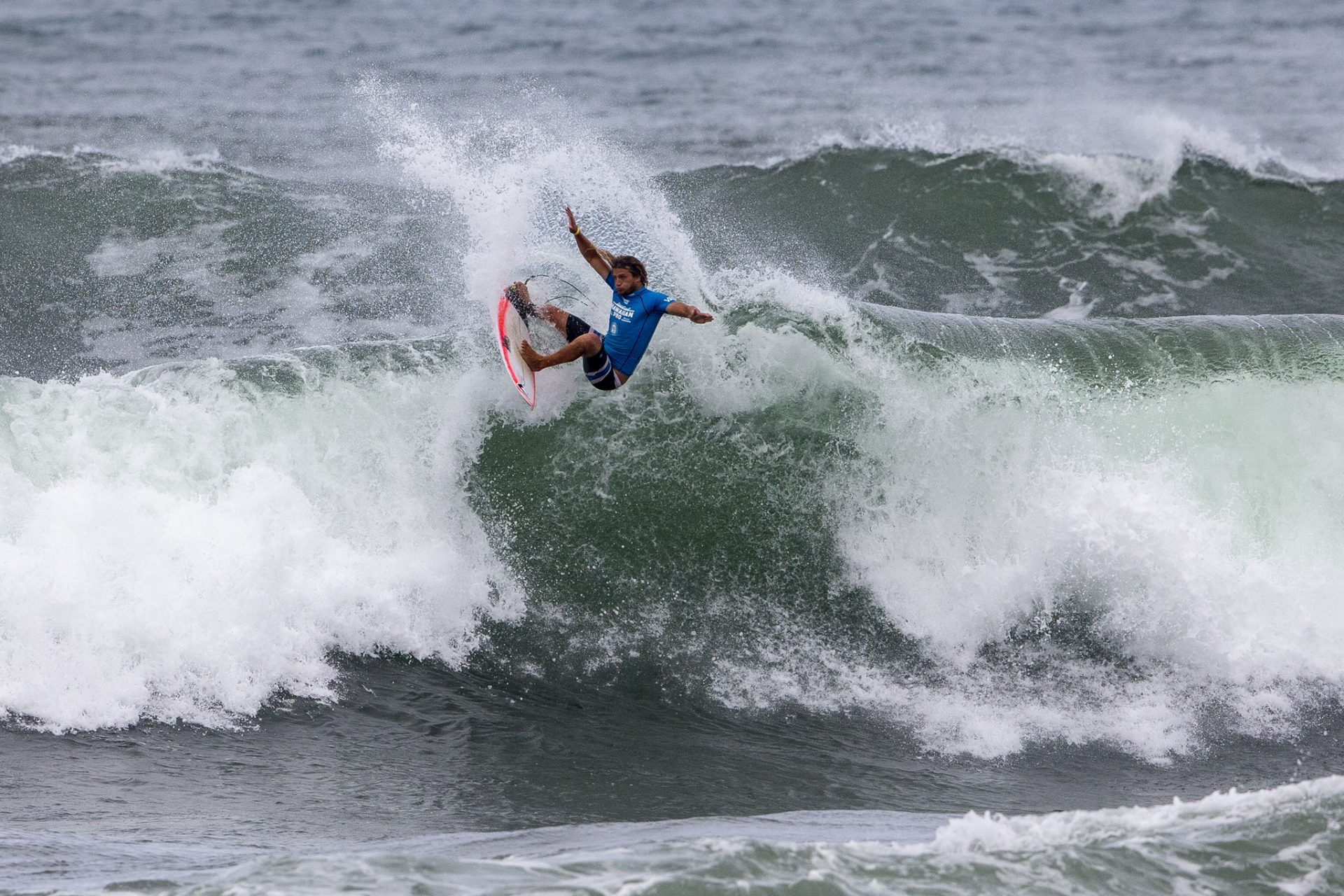 d0b4fdb47ed953 Ricardo Christie of New Zealand finishes in 3rd place of the Hawaiian Pro  at Haleiwa
