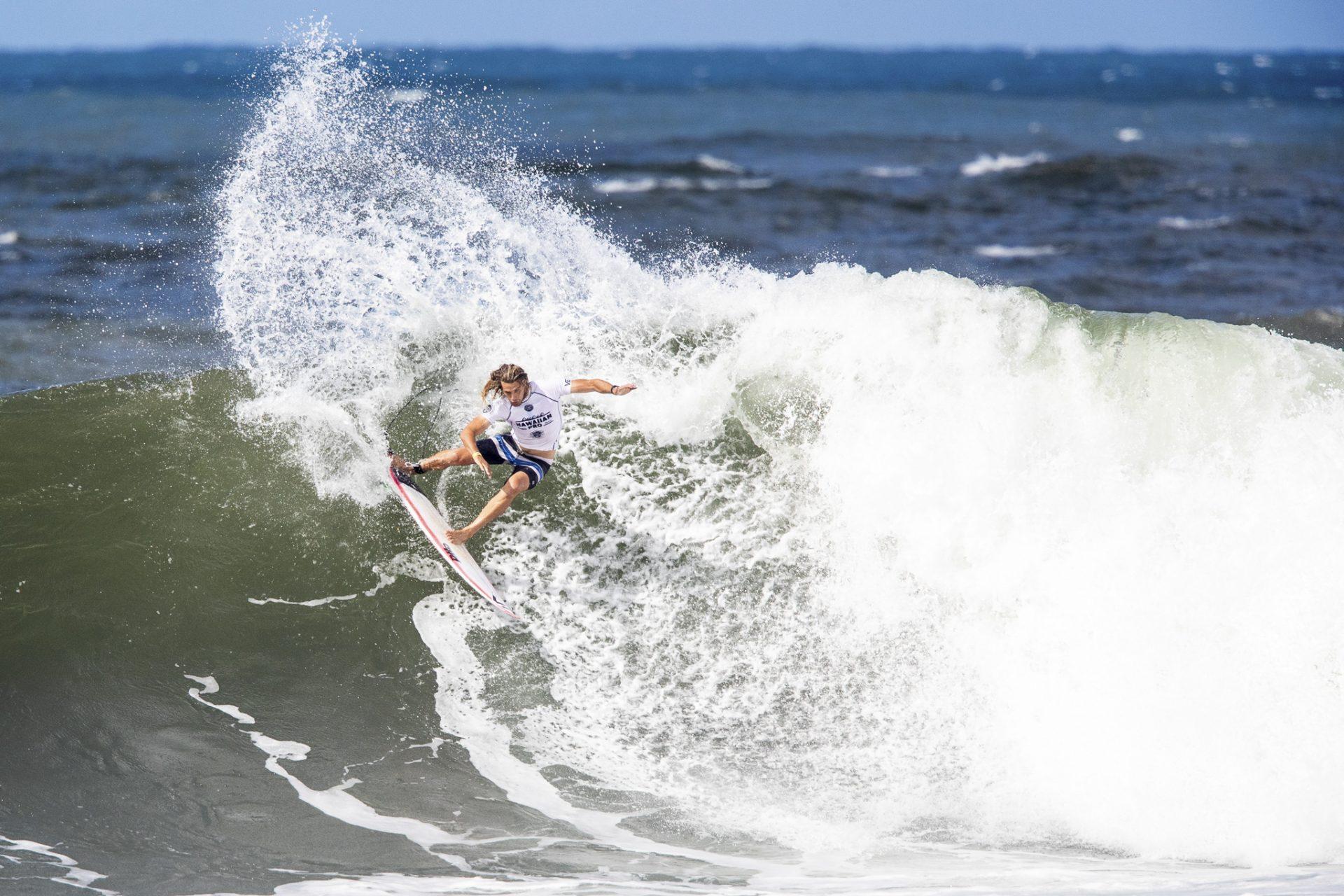 b93d8ae3d8dfe9 Ricardo Surges To The Podium At Hawaiian Pro