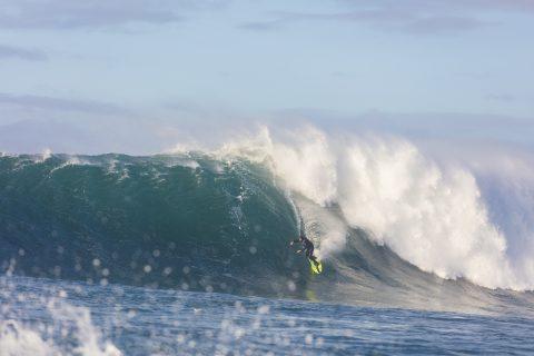 Nat Parsons dropping in. Photo: Derek Morrison