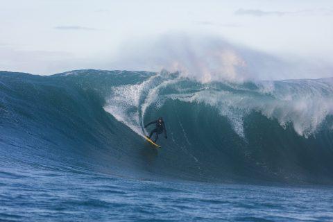 Tim Searing back to the source. Photo: Derek Morrison