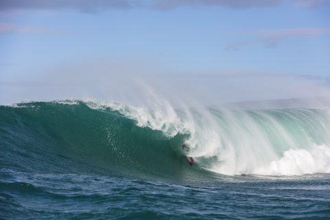 Dale Hunter slots back in deep. Photo: Derek Morrison.