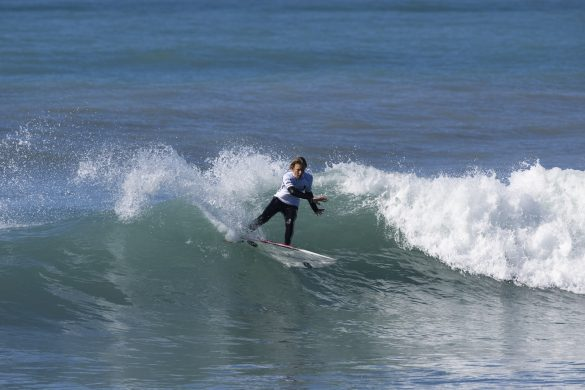 Isaac Klein-Ovink, of Auckland, looking sharp in the early rounds. Photo: Derek Morrison