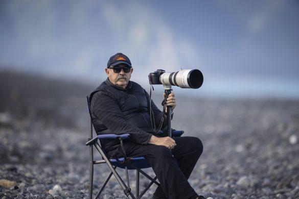 Legendary photographer Warren Hawke. Photo: Derek Morrison