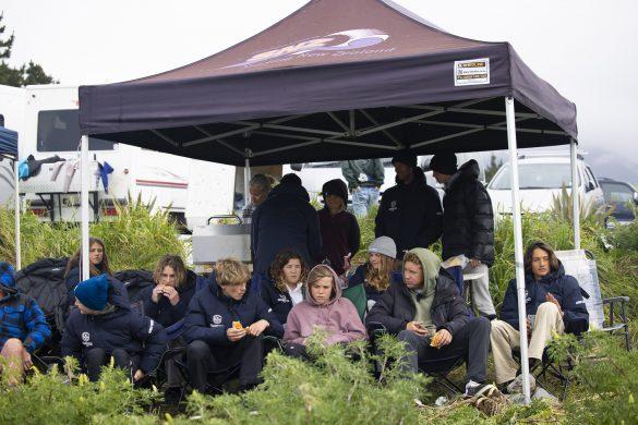 The Otago Team camp. Photo: Derek Morrison
