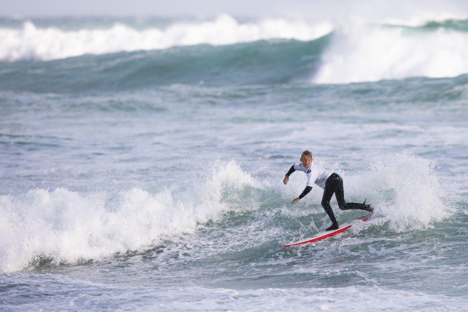 Local surfer Lewis Murphy.